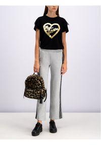 TwinSet Spodnie dresowe 192LI2TDD Szary Regular Fit. Kolor: szary. Materiał: dresówka