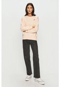 Levi's® - Levi's - Bluza bawełniana. Okazja: na spotkanie biznesowe. Kolor: różowy. Materiał: bawełna. Styl: biznesowy