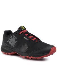 Czarne buty do biegania Icebug