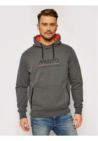 Musto Bluza Logo 84006 Szary Regular Fit. Kolor: szary