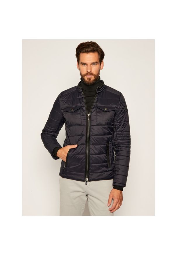 Niebieska kurtka Karl Lagerfeld