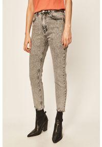 Szare jeansy TALLY WEIJL w kolorowe wzory