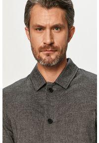 Clean Cut Copenhagen - Koszula. Okazja: na co dzień. Kolor: szary. Materiał: tkanina. Długość rękawa: długi rękaw. Długość: długie. Styl: casual