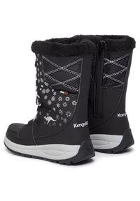 Czarne śniegowce KangaRoos
