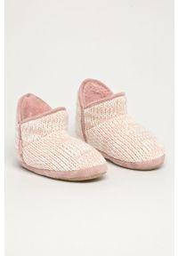 Flip*Flop - Kapcie Bonny Knit. Kolor: różowy