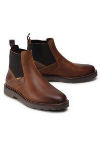 Brązowe buty zimowe Camel Active klasyczne, z cholewką, na co dzień