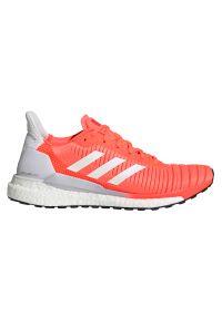 Adidas - Buty do biegania damskie adidas Solar Glide EE4334. Zapięcie: sznurówki. Materiał: guma, materiał. Szerokość cholewki: normalna