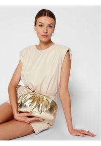 Złota torebka Blumarine