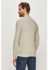Only & Sons - Sweter. Okazja: na co dzień. Kolor: szary. Długość rękawa: długi rękaw. Długość: długie. Styl: casual