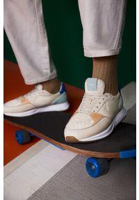 Sneakersy HOFF z okrągłym noskiem, na sznurówki, z cholewką