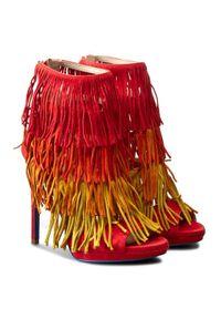 Czerwone sandały Loriblu