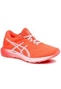 Pomarańczowe buty do biegania Asics z cholewką