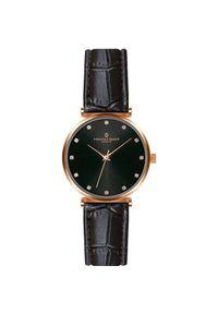 Czarny zegarek Frederic Graff