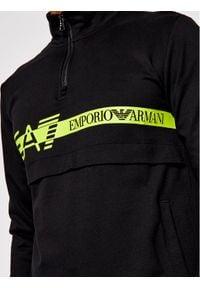 EA7 Emporio Armani Bluza 3KPM27 PJ05Z 1200 Czarny Regular Fit. Kolor: czarny