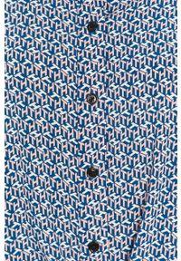 Niebieska koszula TOMMY HILFIGER z długim rękawem, klasyczna