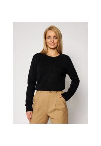 Czarny sweter Trussardi Jeans