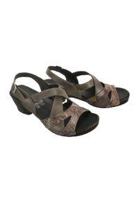 Sandały Comfortabel na rzepy