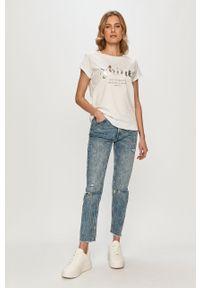 Niebieskie jeansy TALLY WEIJL z podwyższonym stanem #4