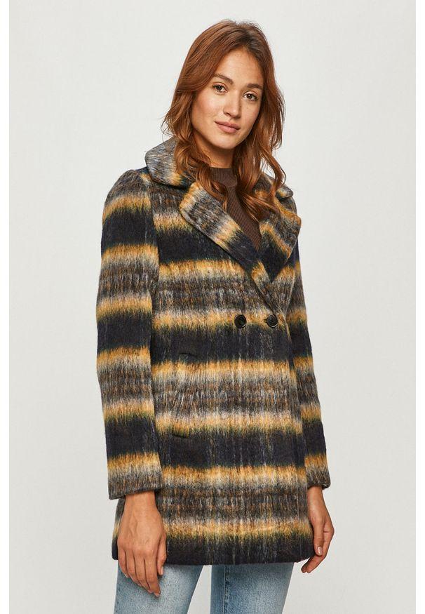Wielokolorowy płaszcz Desigual bez kaptura, na co dzień, klasyczny