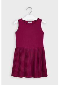 Czerwona sukienka Mayoral z długim rękawem, mini, casualowa #5