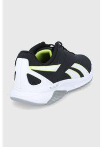 Reebok - Buty Liquifect 90. Nosek buta: okrągły. Zapięcie: sznurówki. Kolor: czarny. Sport: fitness