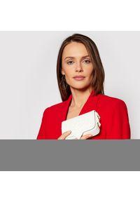 Chiara Ferragni - Saszetka nerka CHIARA FERRAGNI - 21PE-CFPT014 White. Kolor: biały. Materiał: skóra