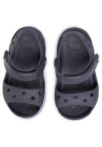 Szare sandały Crocs klasyczne, na lato