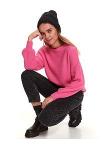 Różowy sweter TOP SECRET