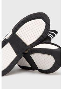 Czarne buty sportowe DKNY z cholewką