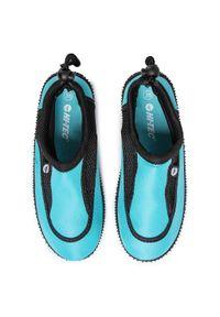 Niebieskie buty sportowe Hi-tec z cholewką, żeglarskie