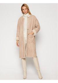 Beżowy płaszcz przejściowy Ugg