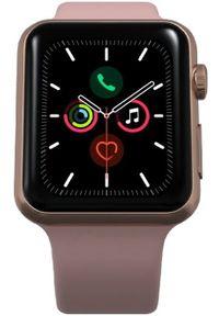 Apple Refurbished smartwatch Watch Series 5, 40mm Gold Aluminium Case with Pink Sand Sport Band. Rodzaj zegarka: smartwatch. Kolor: różowy. Styl: sportowy