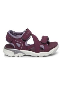 Fioletowe sandały ecco na lato
