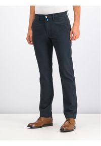 Pierre Cardin Spodnie materiałowe 33757/000/4746 Czarny Regular Fit. Kolor: czarny. Materiał: materiał