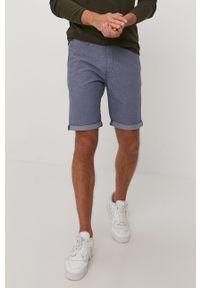 Niebieskie szorty Tom Tailor casualowe, na co dzień