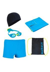 NABAIJI - Zestaw Pływacki 100 Start Dla Dzieci. Materiał: poliester, poliamid, materiał, elastan