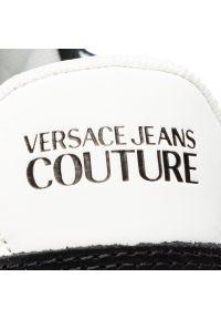 Czarne sneakersy Versace Jeans Couture