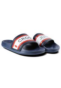 Cross Jeans - Klapki CROSS JEANS FF1R4092C Granat. Okazja: na co dzień, na spacer, na plażę. Wzór: kolorowy. Styl: wakacyjny, casual