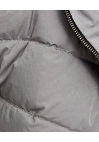 MMC STUDIO - Szara kamizelka puchowa Snow. Okazja: na spacer. Kolor: szary. Materiał: puch. Sezon: jesień, zima. Styl: klasyczny