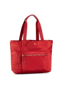 Czerwona torebka Lauren Ralph Lauren