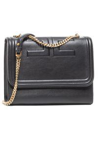 Czarna torebka Elisabetta Franchi elegancka