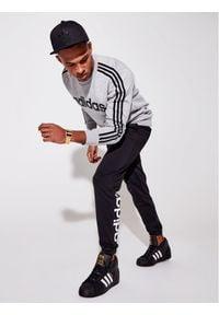 Adidas - adidas Bluza Essentials EI4902 Szary Regular Fit. Kolor: szary