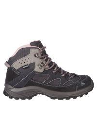 Buty damskie trekkingowe McKinley Discover II Mid 303291. Materiał: zamsz, mesh, guma. Szerokość cholewki: normalna