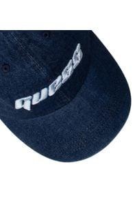 Guess - Czapka z daszkiem GUESS - Denim Cap M1RZ60 WDR60 DRKD. Kolor: niebieski. Materiał: materiał, bawełna