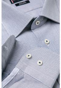 Niebieska koszula Tommy Hilfiger Tailored klasyczna, z klasycznym kołnierzykiem, na co dzień, długa
