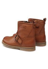 Brązowe buty zimowe Froddo