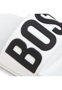 Białe klapki BOSS