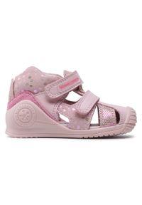 Różowe sandały Biomecanics