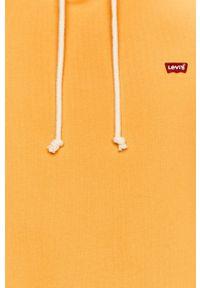 Levi's® - Levi's - Bluza. Okazja: na spotkanie biznesowe, na co dzień. Kolor: pomarańczowy. Wzór: aplikacja. Styl: casual, biznesowy
