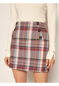 Spódnica TOMMY HILFIGER w kolorowe wzory